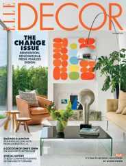 Elle Decor Magazine Subscription October 1st, 2021 Issue