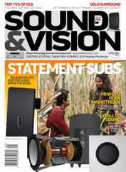Sound & Vision Magazine Subscription April 1st, 2021 Issue