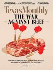 Texas Monthly Magazine Subscription September 1st, 2020 Issue