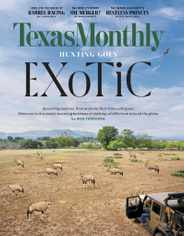 Texas Monthly Magazine Subscription February 1st, 2021 Issue