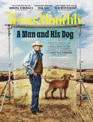 Texas Monthly Magazine Subscription March 1st, 2021 Issue