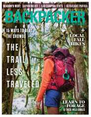 Backpacker Magazine Subscription August 4th, 2020 Issue