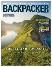 Backpacker Magazine Subscription November 1st, 2020 Issue