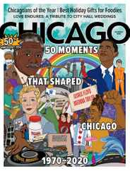 Chicago Magazine Subscription December 1st, 2020 Issue