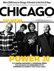Chicago Magazine Subscription March 1st, 2021 Issue