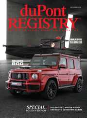 Dupont Registry Magazine Subscription December 1st, 2020 Issue