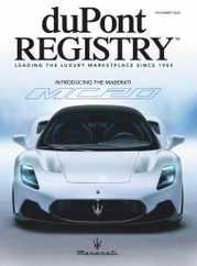Dupont Registry Magazine Subscription November 1st, 2020 Issue