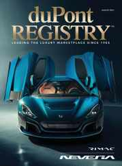 Dupont Registry Magazine Subscription August 1st, 2021 Issue