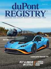 Dupont Registry Magazine Subscription January 1st, 2021 Issue