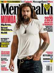 Men's Health Magazine Subscription December 1st, 2020 Issue