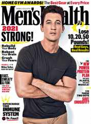 Men's Health Magazine Subscription January 1st, 2021 Issue