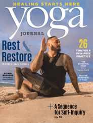 Yoga Journal Magazine Subscription September 1st, 2020 Issue