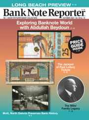 Banknote Reporter Magazine Subscription October 1st, 2020 Issue