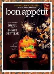 Bon Appetit Magazine Subscription December 1st, 2020 Issue