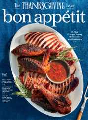 Bon Appetit Magazine Subscription November 1st, 2020 Issue