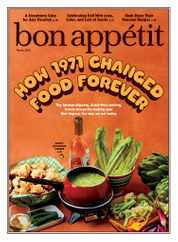 Bon Appetit Magazine Subscription April 1st, 2021 Issue