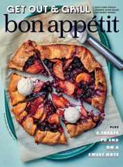 Bon Appetit Magazine Subscription August 1st, 2021 Issue