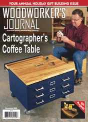 Woodworker's Journal Magazine Subscription December 1st, 2020 Issue