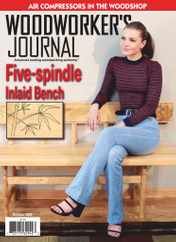 Woodworker's Journal Magazine Subscription October 1st, 2020 Issue