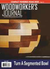 Woodworker's Journal Magazine Subscription April 1st, 2021 Issue