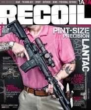 Recoil Magazine Subscription November 1st, 2020 Issue
