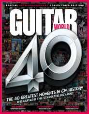 Guitar World Magazine Subscription November 1st, 2020 Issue