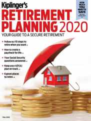 Kiplinger's Personal Finance Magazine Subscription August 25th, 2020 Issue