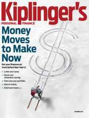 Kiplinger's Personal Finance Magazine Subscription December 1st, 2020 Issue