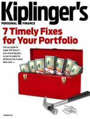 Kiplinger's Personal Finance Magazine Subscription November 1st, 2020 Issue