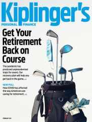 Kiplinger's Personal Finance Magazine Subscription February 1st, 2021 Issue