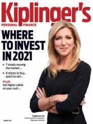 Kiplinger's Personal Finance Magazine Subscription January 1st, 2021 Issue