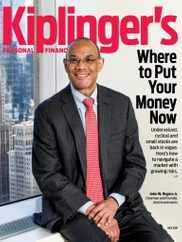 Kiplinger's Personal Finance Magazine Subscription July 1st, 2021 Issue