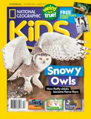 National Geographic Kids Magazine Subscription December 1st, 2020 Issue