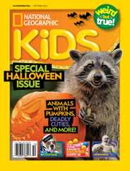 National Geographic Kids Magazine Subscription October 1st, 2020 Issue