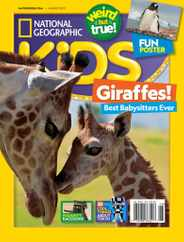 National Geographic Kids Magazine Subscription August 1st, 2021 Issue