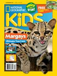 National Geographic Kids Magazine Subscription June 1st, 2021 Issue