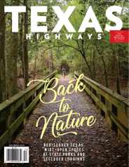 Texas Highways Magazine Subscription December 1st, 2020 Issue