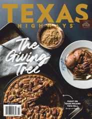 Texas Highways Magazine Subscription October 1st, 2020 Issue