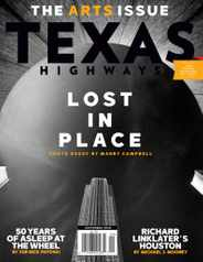Texas Highways Magazine Subscription September 1st, 2020 Issue