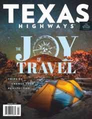 Texas Highways Magazine Subscription January 1st, 2021 Issue
