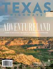 Texas Highways Magazine Subscription October 1st, 2021 Issue