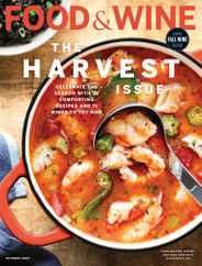 Food & Wine Magazine Subscription October 1st, 2020 Issue