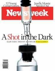 Newsweek Print & Digital Subscription September 25th, 2020 Issue