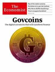 The Economist Print & Digital Subscription May 8th, 2021 Issue