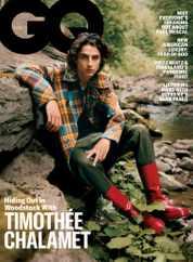 GQ Magazine Subscription November 1st, 2020 Issue