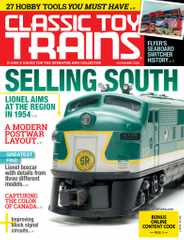 Classic Toy Trains Magazine Subscription November 1st, 2020 Issue