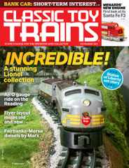Classic Toy Trains Magazine Subscription November 1st, 2021 Issue