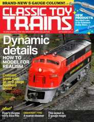 Classic Toy Trains Magazine Subscription September 1st, 2021 Issue