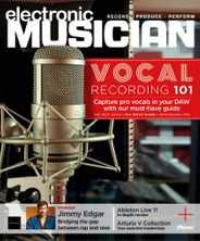 Electronic Musician Magazine Subscription June 1st, 2021 Issue
