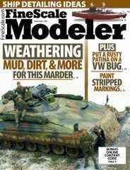 Finescale Modeler Magazine Subscription September 1st, 2021 Issue